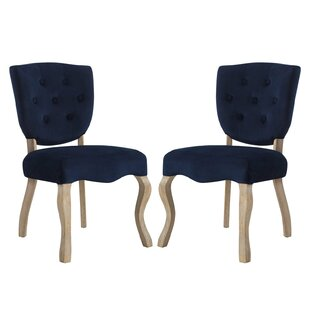 Fairfield Upholstered Dining Chair (Set of 2) by Ophelia & Co.