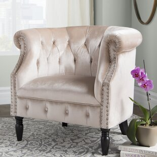 Affordable Lenita Chesterfield Chair by House of Hampton Reviews (2019) & Buyer's Guide