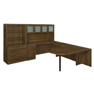 Flexsteel Contract Fairplex 8-Piece L-Shape Desk Office Suite