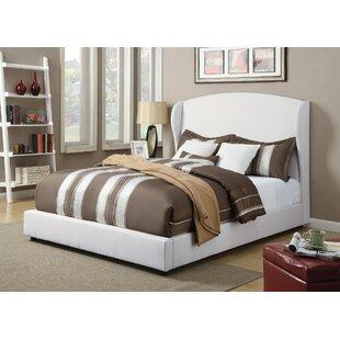 Gracie Oaks Ensuncho Upholstery Wingback Bed