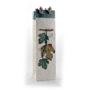 Handmade Foliage Single Bottle Carrier