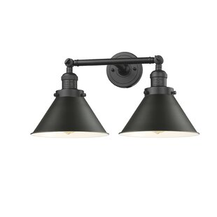 Laurel Foundry Modern Farmhouse Stonecrest 2-Light Vanity Light