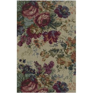 Tapestry Rose Bouquet Futon Slipcover