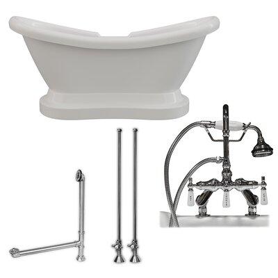 "68"" x 29"" Freestanding Bathtub"