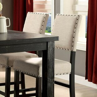 Huey 25 Bar Stool (Set of 2) Canora Grey