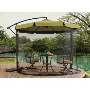 10u0027 Anthea Cantilever Umbrella