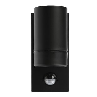 1 Light Outdoor Sconce With Motion Sensor By Symple Stuff