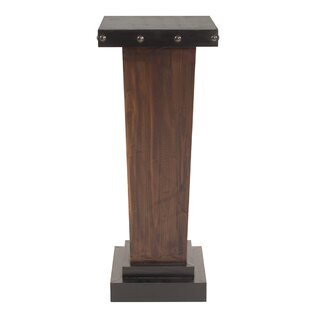 Bloomsbury Market Peavy Tapered Pedestal Plant/Telephone Table