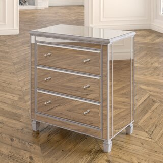 Chauncey 3 Drawer Chest by Willa Arlo Interiors