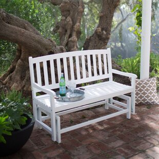 Trevino Patio Glider Bench By August Grove