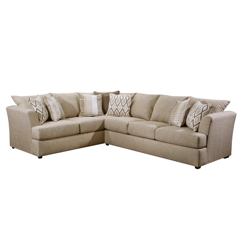 Brayden Studio 96 Wide Left Hand Facing Corner Sectional Wayfair