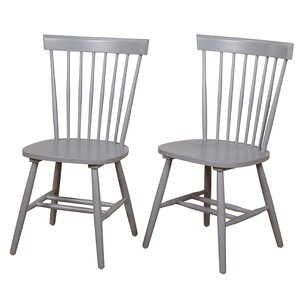 Tesfai Solid Wood Dining Chair (Set of 2)..
