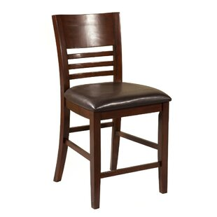 Entin Wooden Bar Stool (Set of 2)