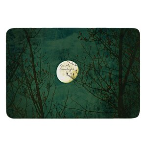 Kiss Me Goodnight by Robin Dickinson Bath Mat