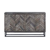 "Kaelyn 66"" Wide Acacia Wood Credenza"