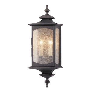 Abrahams 2-Light Outdoor Flush Mount