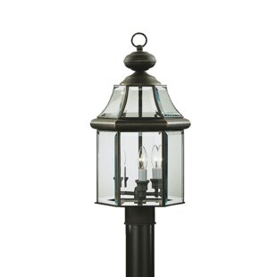 Compare Barlyne Outdoor 3-Light Lantern Head By Astoria Grand