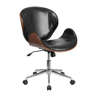 Low priced Genuine Leather Task Chair by Offex Reviews (2019) & Buyer's Guide