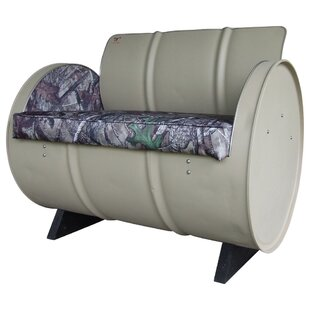 High Tech Concealment True Timber Camo Armchair by Drum Works Furniture