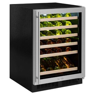 45 Bottle High-Efficiency Single Zone Built-In Wine Cooler by Marvel