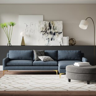 Farleigh Hungerford Modular Sectional by Mercury Row New Design