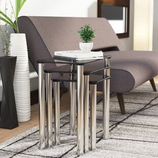 Natale 3 Piece Nesting Tables Ebern Designs