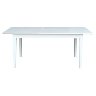 Luka Extension Solid Wood Dining Table