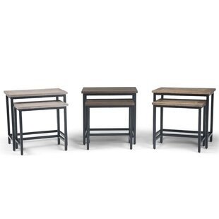 Studebaker 2 Piece Nesting Tables Williston Forge