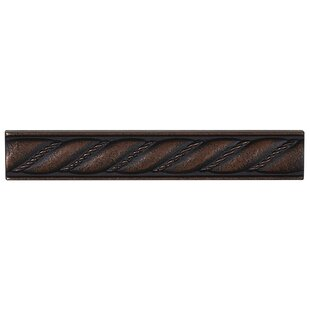 Tilden 1 X 6 Metal Liner Tile In Oil Rubbed Bronze