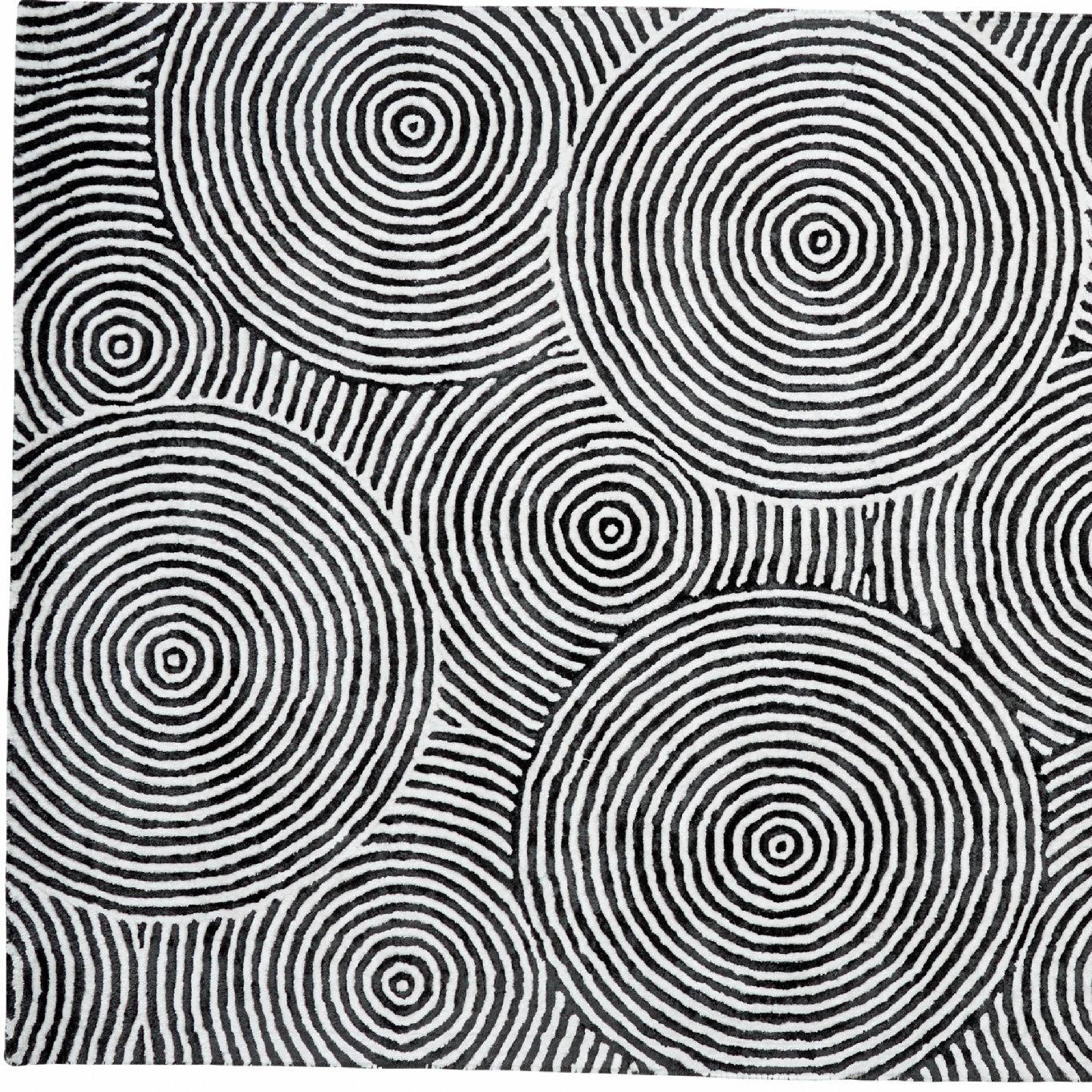 Black And White Geometric Kitchen Rug: Dynamic Rugs Celeste Black / White Geometric Rug & Reviews