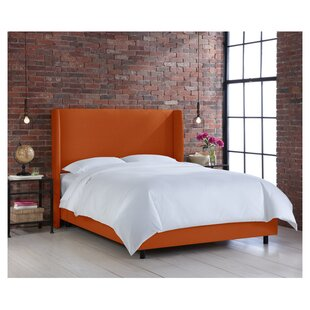 Coventry Upholstered Panel Bed by Skyline Furniture