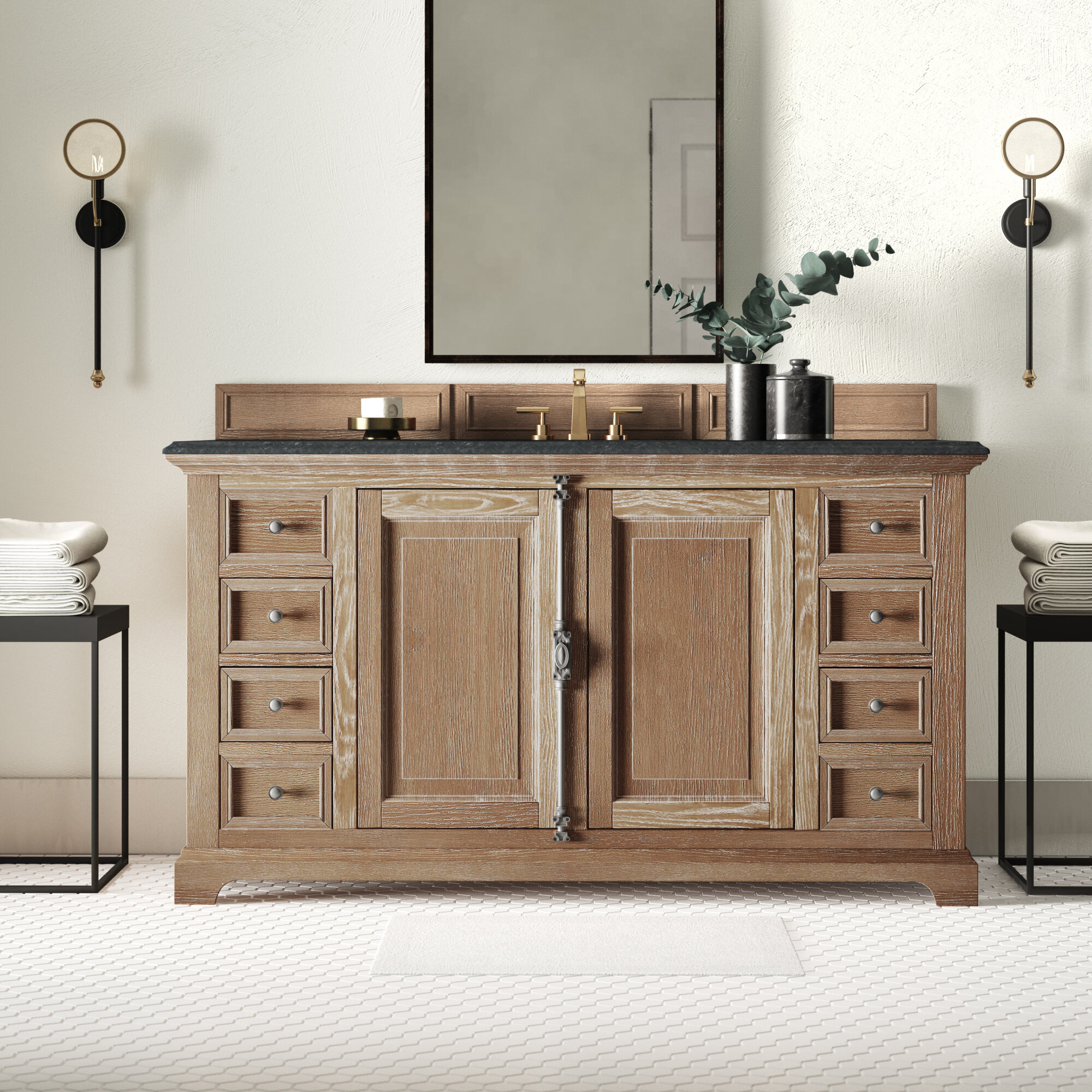 Greyleigh Nunnari 60 Single Bathroom Vanity Base Only Reviews Wayfair