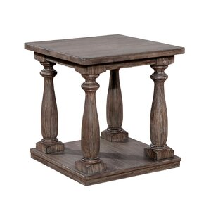 Bock Wooden End Table