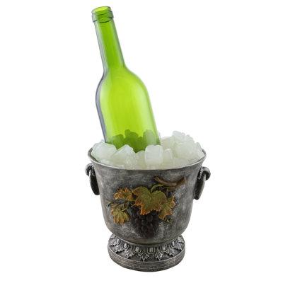 Juliana Ice Bucket 1 Bottle Tabletop Wine Rack Wine Bodies