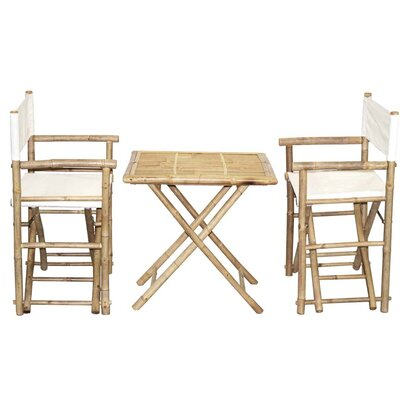 3 Piece Bistro Set by Bamboo54 Herry Up