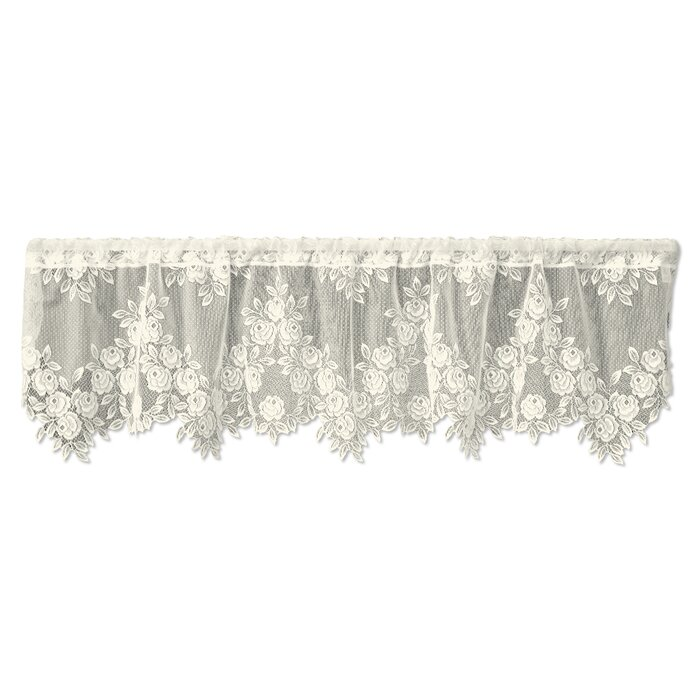 Tea Rose 60 Curtain Valance