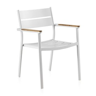 Steubenville Stacking Garden Chair By Beachcrest Home