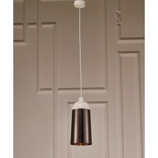 Orren Ellis Swenson 1-Light Bell Pendant