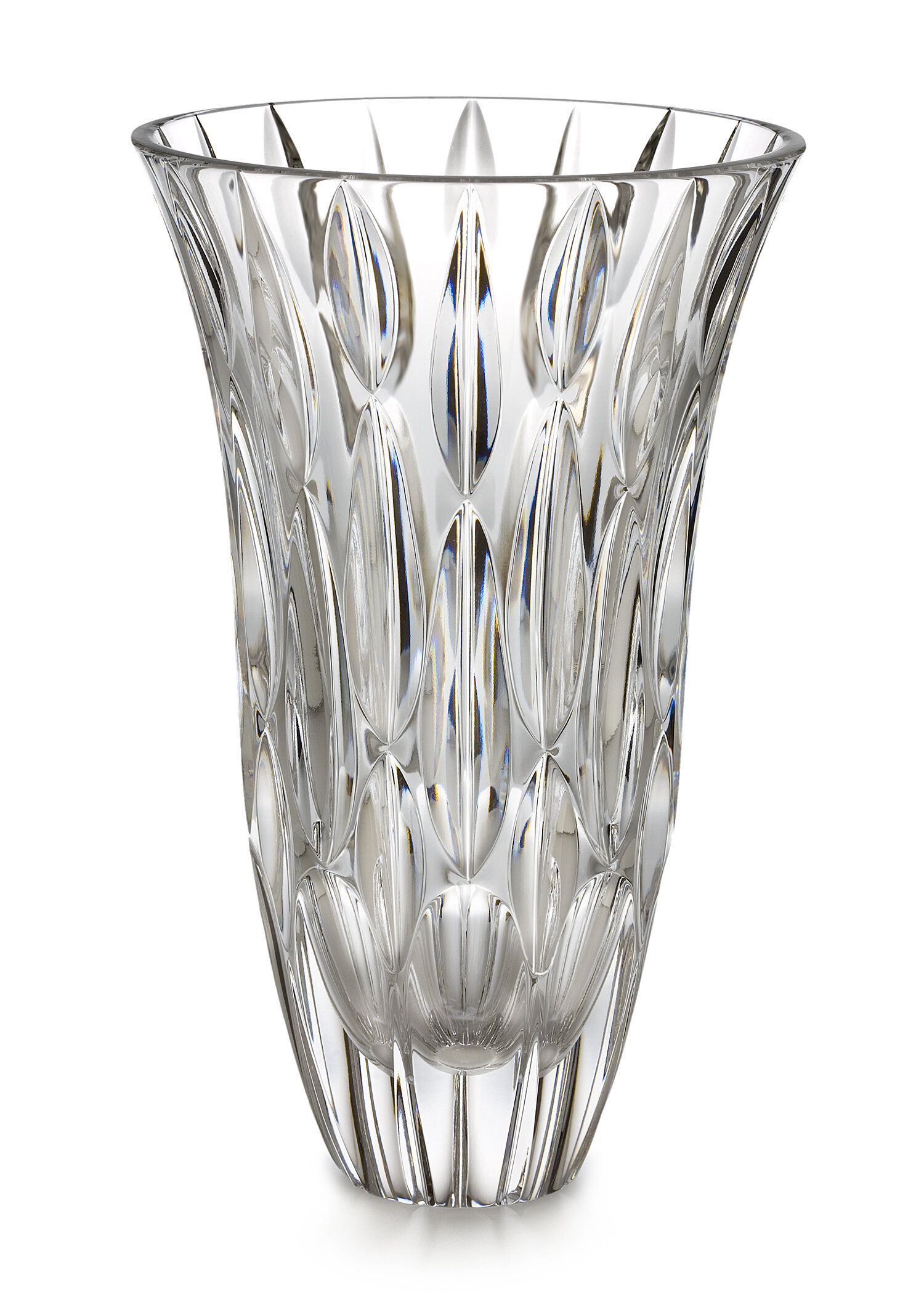 Marquis By Waterford Rainfall Clear 9 Crystal Table Vase Reviews Wayfair