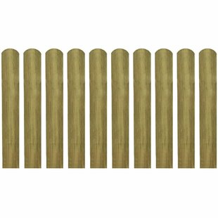 Review Engleman 0.1m X 1.4m Border Fence (Set Of 10)