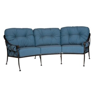 Woodard Derby Crescent Sofa With Cushions