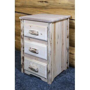 Abordale 3 Drawer Nightstand