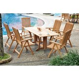Sealrock Luxurious 7 Piece Teak Dining Set
