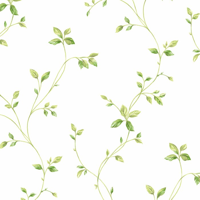 Ophelia Co Grote 32 7 X 20 5 Floral Vine Roll Wallpaper Wayfair