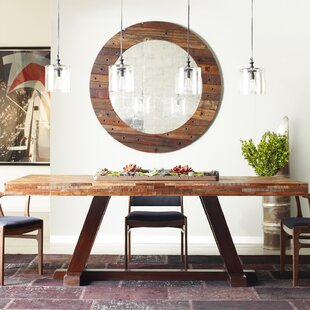 Niko Solid Wood Dining Table by Design Tree Home