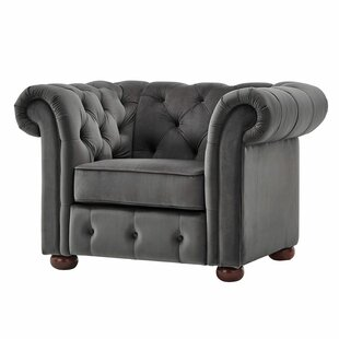 Les Tufted Barrel Chair by Willa Arlo Interiors