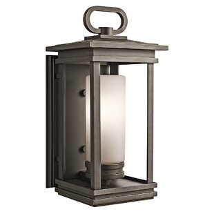 Loon Peak Minturn 1-Light Outdoor Flush Mount