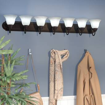Charlton Home Turcotte 7 Light Vanity Reviews Wayfair