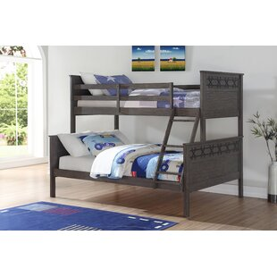 Colucci Barn Twin Over Full Bunk Bed by Harriet Bee