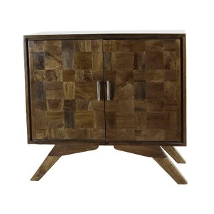 Henfield Rustic Wood Accent Cabinet by World Menagerie